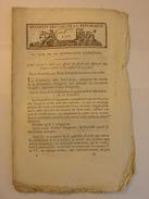 BULLETIN DES LOIS 1798 - REVERBERE - TIMBRE VIGNETTE DIRECTOIRE - VIEL MOULIN REVEST THORONET CABASSE LABARDE TARADEAU - Gesetze & Erlasse
