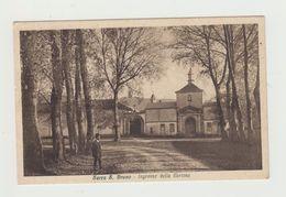 SERRA SAN BRUNO ( CALABRIA) - INGRESSO DELLA CERTOSA - VIAGGIATA 1937 - ITALY POSTCARD - Vibo Valentia