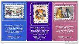 1999 - ITALIA (11-13)-  TESSERA FILATELICA TESORI DEI MUSEI NAZIONALI - 6. 1946-.. Repubblica