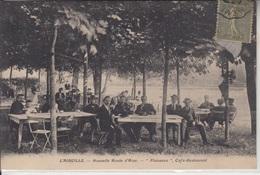 """87 - L'AIGUILLE - Nouvelle Route D'Aixe - """" Plaisance """" Café-Restaurant Animé - Frankrijk"""