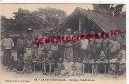 AFRIQUE - CONGO - LASTOURSVILLE - GROUPE D' ADOUMAS - Congo Francese - Altri