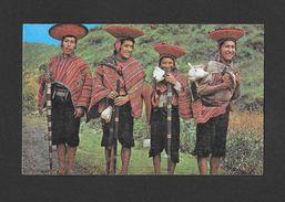CUSCO - PÉRU - ALCALDES DE COMUNIDADES DE PISAQ - PISAQ INDIAN MAYOR'S - BY APARTADO - Pérou