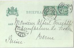 PK  Amsterdam - Bern            1903 - Postal Stationery