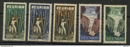 REUNION: - N° Yvert 265/269** - Isola Di Rèunion (1852-1975)
