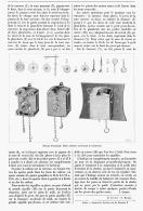 HORLOGE DEMONTABLE  1902 - Bijoux & Horlogerie