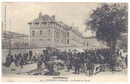 Cpa Clermont-Ferrand -  Le Marché Aux Puces      (S.2198) - Clermont Ferrand