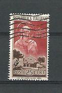 1953  N°  656  SAINTE CLAIRE D'ASSISE   OBLITERE - 6. 1946-.. Republik