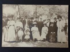 31 - CPA-Photo - Ca. 1900 - Groupes De Vacanciers à LUCHON (Art Moderne / A. BAUDILLON) -a - Luchon
