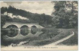 Saint-Lo-La Vire-Le Pont De La Buissonnière-(CPA) - Saint Lo