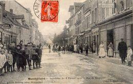 MONTBELIARD INONDATION DU 8 FEVRIER 1910 RUE DE BESANCON - Montbéliard