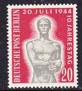 Berlin 1954 10. Jahrestag 1v ** Mnh (36658A) - [5] Berlin