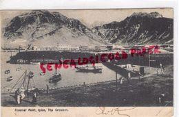 ASIE - YEMEN- STEAMER POINT -ADEN - CRESCENT 1905- CACHET ADOLPHE RIES ADEN ARABIE - Yemen