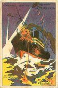 Cpa H. GRAND'AIGLE ( Henri Genévrier ) AERO CIBLE MICHELIN - Attaque D'un Transport, Notre Avenir Est Dans L'air - Autres Illustrateurs