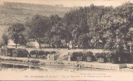 Saint-Antonin Vue De L'escalier Et De L'établissement Thermal - Saint Antonin Noble Val