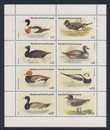 Equatorial Guinea / Guinee Equatorial 1978 Mi 1444 /51 Sheet ** Ducks, Waterbirds / Enten, Wasservögel / Canards /eenden - Eenden