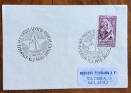 SPORT  VELA ASSEMBLEA GENERALE SOCIETA' VELICHE ITALIANE TRIESTE 13/2/1955 - Pallavolo
