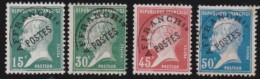 """France   .    Yvert      .    P.  65/68      .         O   .         """"oblitéré'"""" - Precancels"""