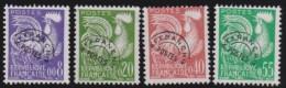 """France   .    Yvert      .    P.    119/122        .         O   .         """"oblitéré'"""" - 1953-1960"""