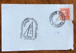 SPORT  VELA  BRASILE  ASSISTA AD CAMPEONATO MUNDIAL DE VELA  CLASSE SHIPE EN CUTUBRO PORTO ALLEGRE 1959 - Pallavolo