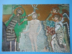 Palermo - Cappella Palatina - Mosaici - Battesimo Di Gesù - Peintures & Tableaux