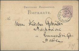 STEMPEL: Altbreisach Breisach. - Stamped Stationery 1878 - Germany