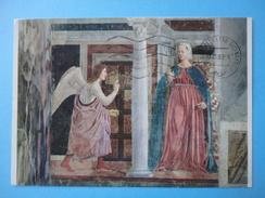 Arezzo - Chiesa Di S. Francesco - L'Annunciazione Di Maria - Particolare - Schilderijen