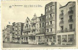 BLANKENBERGE FACADES DES VILLAS ET HOTELS SUR LA DIGUE - Blankenberge