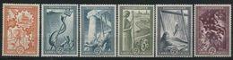 1951 Grecia, E.R.P. Ricostruzione Europea , Serie Comleta Nuova (**) - Grecia