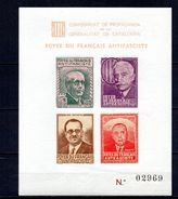 Viñeta Hb  Nº 2281/952/5   Foyer Français  Personajes. - Viñetas De La Guerra Civil