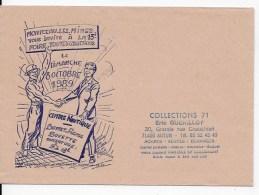 Enveloppe ,foire Toutes Collections 1989 Montceau Les Mines - Autres