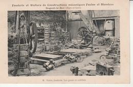 Nogent Le Roi-Fonderie Et Ateliers De Constructions Mécaniques Feulon Et Blondeau-Partie Fonderie. - Nogent Le Roi