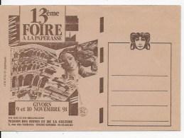 Enveloppe ,foire à La Paperasse  GIVORS 1991 - Other