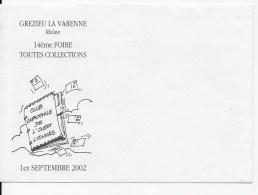 Enveloppe ,Foire Toutes Collections Grezieu La Varenne 2002 - Other