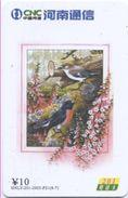 Oiseau Bird Vogel Télécarte Phonecard Telefonkarte (S.484) - Chine
