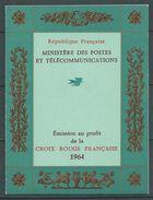 FRANCE 1964 . Carnet Croix Rouge N° 2013 . Neufs **  (MNH) - Carnets