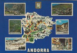 Andorra  Views..  Sent To Denmark 1984. French Stamp..  # 07043 - Andorra