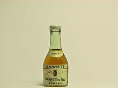 Mignonnette De Cognac - BARNETT & FILS V.S.O.P. FINE CHAMPAGNE - Mignonnettes