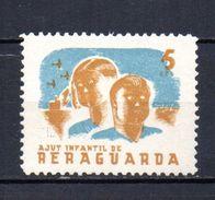 Viñeta  Nº 2290/962  Ajut Infantil Reraguarda. - Verschlussmarken Bürgerkrieg