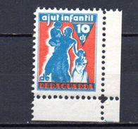 Viñetas  Nº 2295/6  Ajut Infantil Reraguarda. - Verschlussmarken Bürgerkrieg