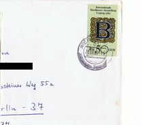 Cover D- DDR1357  # 1989 Meiningen ¬ Mi 3246 - Storia Postale
