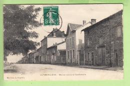 LA VERPILLIERE - Maisons Neuves Et Gendarmerie - Peu Courant  - Ed. Mlle Griot - 2 Scans - France