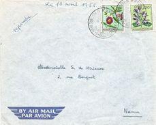 Belgian Congo 1956 Kamina Base Militaire 1 Militaire Basis Cover - Belgisch-Kongo