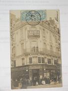C.P.A.- Photo.Identifiée - Angers (49) - Magasin Delarue,Audas & Joudon Patrons & Employés Place Ralliement - 1907 (K44) - Angers