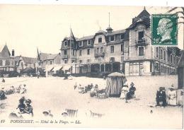 ----44 -----  PORNICHET  Hotel De La Plage Bien Timbrée Excellent état - Pornichet