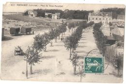 ----44 ----- PORNICHET  Place Du Vieux Pornichet Avec Roulottes Cabine - ATTENTION ANGLE - Pornichet