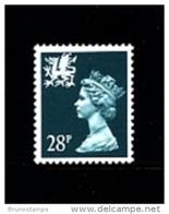GREAT BRITAIN - 1991  WALES  28 P.  MINT NH   SG  W64 - Regionali