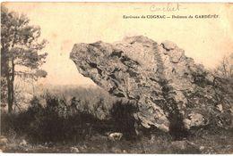 CPA N°6808 - COGNAC DE DOLMEN DE GARDEPEE + CACHET XIIe CORPS D' ARMEE PLACE DE COGNAC HOPITAL TEMPORAIRE N°45 - MAI1915 - Oorlog 1914-18