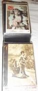 01 - ALBUM DE 100 CPA Fantaisies Diverses - - Cartes Postales