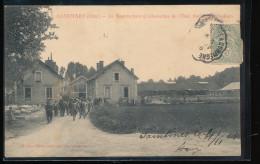 60 -- Saintines -- La Manufacture D'Allumettes De L'Etat -- Sortie Des Ateliers - Autres Communes