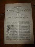 1883 Journal Des Demoiselles --->Saïgon (Vietnam) Et La Cochinchine Française;  Gaston De Foix; Etc - Vieux Papiers